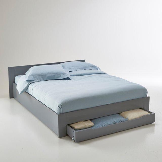 lit 2 places avec sommier et matelas