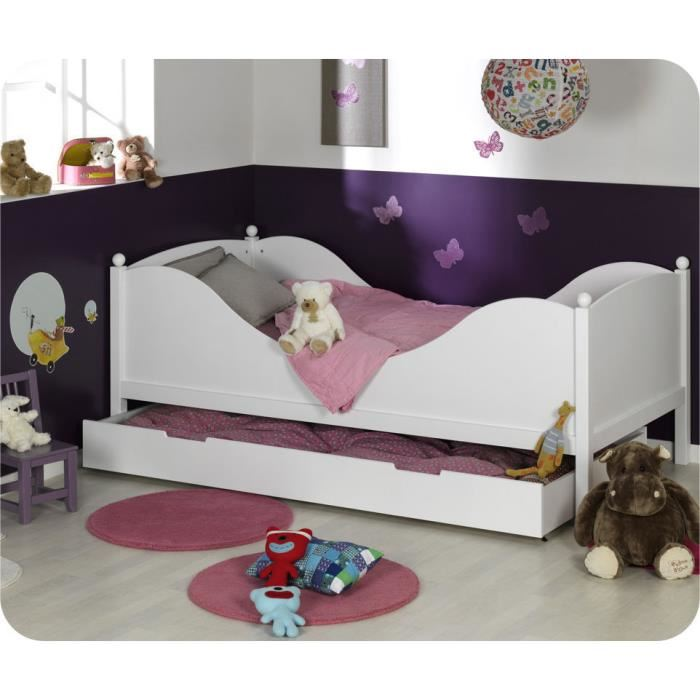 lit enfant avec sommier et matelas