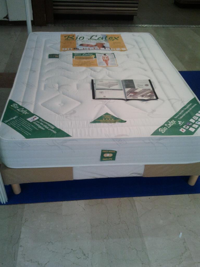 Matelas Bio Latex 140x190 Photos Matelascom