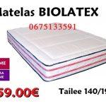 matelas biolatex