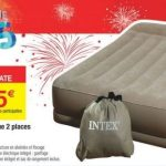 matelas gonflable intex carrefour