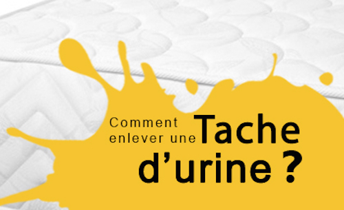 nettoyage matelas urine